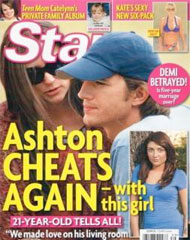 Ashton Kutcher en apuros