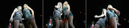 Jesse Jane y Riley Steele bailando