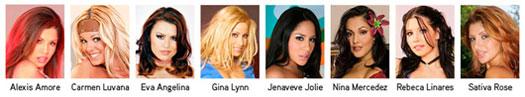 Las finalistas a Mejor Estrella Porno Latina de la Década